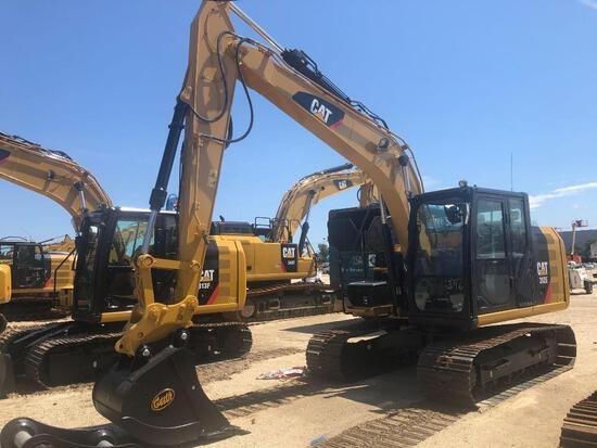 2015 CAT 312E HYDRAULIC EXCAVATOR powered by Cat diesel engine, equipped with Cab, air, heat, rearvi