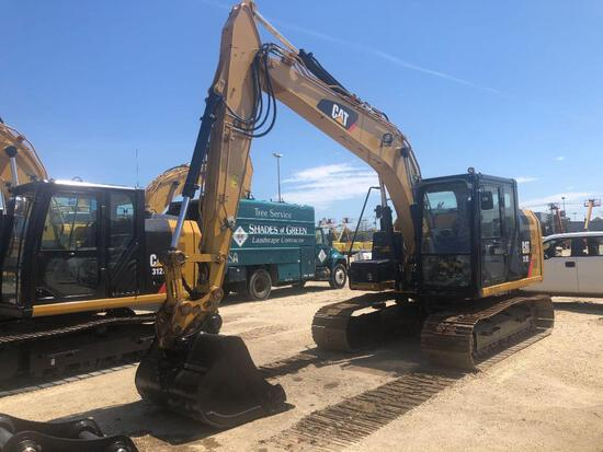 2012 CAT 312EL HYDRAULIC EXCAVATOR SN:MJD00447 powered by Cat diesel engine, equipped with Cab, air,