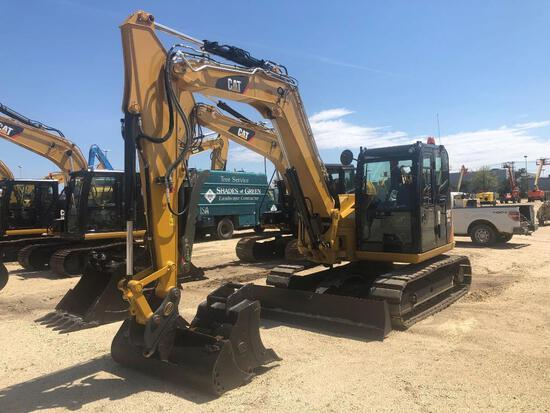 2017 CAT 308E2CR HYDRAULIC EXCAVATOR powered by Cat diesel engine, equipped with Cab, air, heat, fm