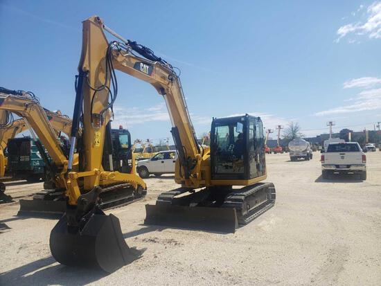 2015 CAT 308E2CR HYDRAULIC EXCAVATOR SN-01671 powered by Cat diesel engine, equipped with Cab, air,