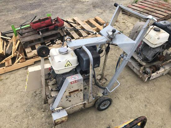 2009 EDCO DS18-13H 18IN. CONCRETE SAW SUPPORT EQUIPMENT SN:091010045