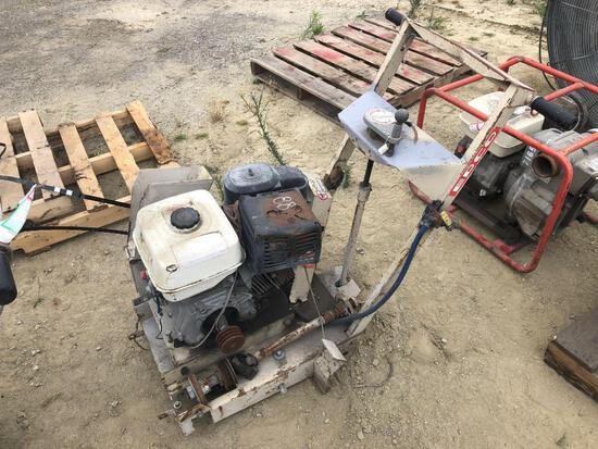 2007 EDCO DS16A-13H 16IN. CONCRETE SAW SUPPORT EQUIPMENT SN:070410083