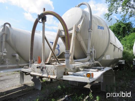 1996 POLAR PNEUMATIC TRAILER VN:1PMB14421T2016754 equipped with spring suspension, 11R24.5 tires, ta