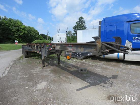 2001 ESP TCT440-120CC ROLLOFF TRAILER VN:1E9RS482311229167 equipped with double box roll off, fixed