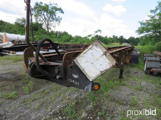 2001 ESP ROLLOFF TRAILER VN:1E9RS482611229163 equipped with double box roll off, fixed spread axle,
