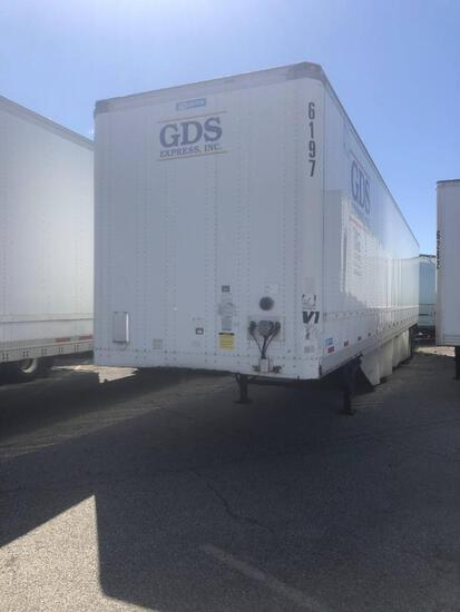 2012 STOUGHTON VAN TRAILER VN:1DW1A5324CS314801 equipped with 53ft. Van body, air ride suspension, s