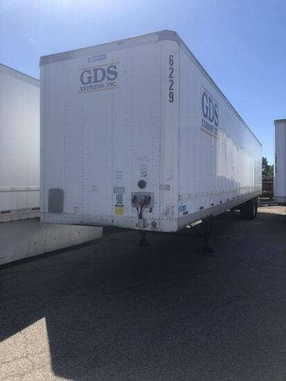 2003 STOUGHTON VAN TRAILER VN:1DW1A53219S159925 equipped with 53ft. Van body, air ride suspension, s