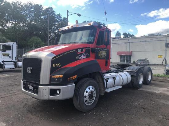 2013 CAT CT660S TRUCK TRACTOR VN:1HSJGTKRXEJ479517 powered by Cat CT13 diesel engine, equipped with