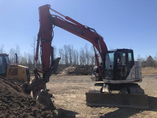 2015 LINKBELT 145X3 SPIN ACE HYDRAULIC EXCAVATOR powered by Isuzu diesel engine, equipped with Cab,