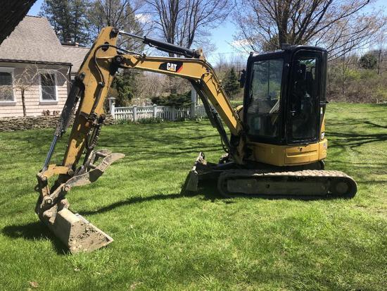 2012 CAT 304ECR HYDRAULIC EXCAVATOR powered by Cat C2.4 diesel engine, equipped with Cab, air, swing