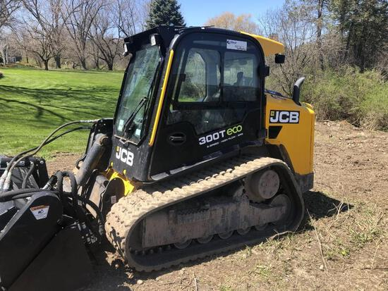 2018 JCB 300T RUBBER TRACKED SKID STEER SN:TVVH258462 powered by JCB diesel engine, equipped with ER