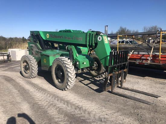 2011 LULL 6042 TELESCOPIC FORKLIFT SN:41061 4x4, powered by diesel engine, equipped with OROPS, 6,00