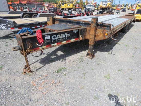 2011 CAM 20 TON TAGALONG TRAILER VN:BP026765 equipped with 20 ton capacity, 19ft. 6in. Top deck, 5ft