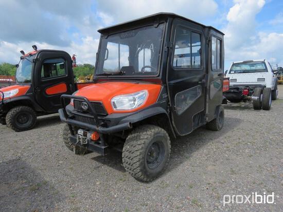 2018 KUBOTA RTVX1140C UTILITY VEHICLE 4x4, powered by Kubota diesel engine, equipped with EROPS, hea