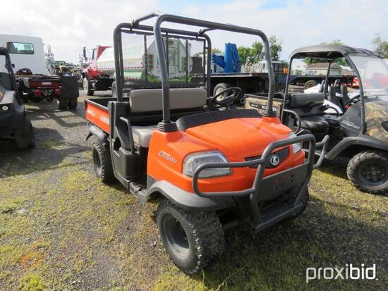 KUBOTA RTV900 UTILITY VEHICLE SN:D4303 powered by diesel engine, equipped with OROPS, hydrostatic tr