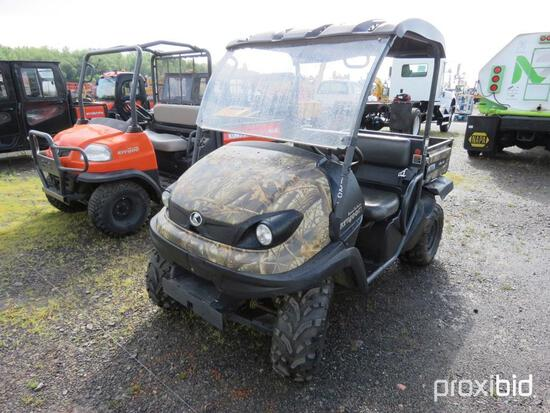 KUBOTA RTV400 UTILITY VEHICLE SN:23249 powered by gas engine, equipped with OROPS, CVT transmission,