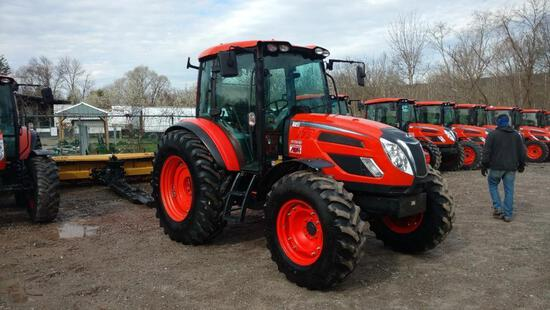 2017 KIOTI PX1053 TRACTOR LOADER SN:TX9600007 4x4, powered by diesel engine, 102hp, equipped with ER