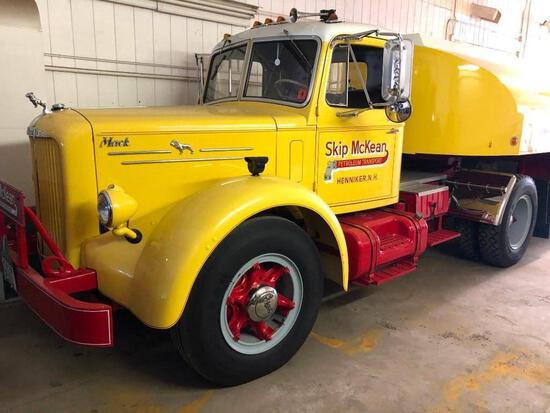1951 MACK LF TRUCK TRACTOR ANTIQUE TRUCK VN:LFT1D9925 Restored. powered by Thermodyne 510CI gas engi