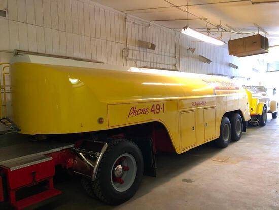 1954 FARRELL FUEL TANK TRAILER VN:297268 5 compartment 5400 gallon capacity, cast spoke wheels, 10.0