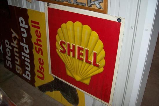 SHELL SIGN COLLECTIBLE