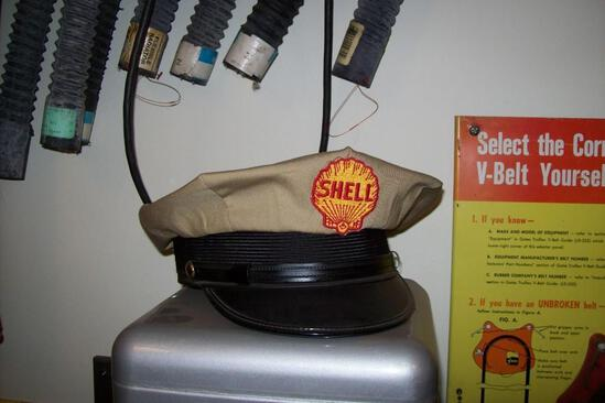 SHELL GAS STATION ATTENDANT'S HAT COLLECTIBLE