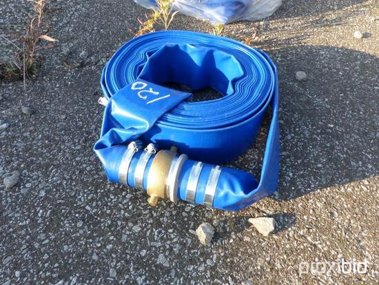 NEW 2IN. X 50FT. DISCHARGE WATER HOSE NEW SUPPORT EQUIPMENT