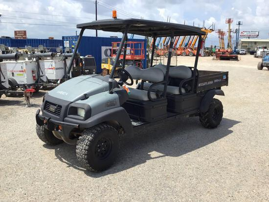 2016 CLUB CAR CARRYALL 1700 UTILITY VEHICLE SN:SD1630-659602 4x4, powered by diesel engine, equipped