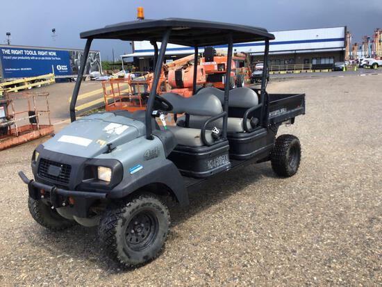 2015 CLUB CAR CARRYALL 1700 UTILITY VEHICLE SN:SD1617/640111 4x4, powered by diesel engine, equipped