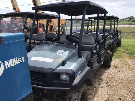 2015 CLUB CAR CARRYALL 1700 UTILITY VEHICLE SN:SD1613/632821 4x4, powered by diesel engine, equipped