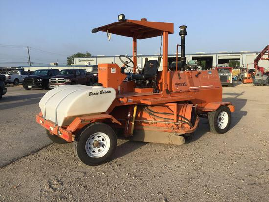 2013 BROCE KR-350 SWEEPER SN:408152 powered by diesel engine, equipped with ROPS, 8ft. Sweeper, wate