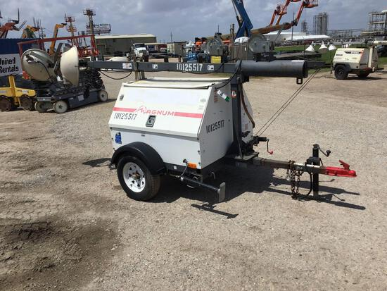 2013 MAGNUM PRO MLT4060 LIGHT PLANT SN:1300839 powered by diesel engine, equipped with 4-1,000 watt