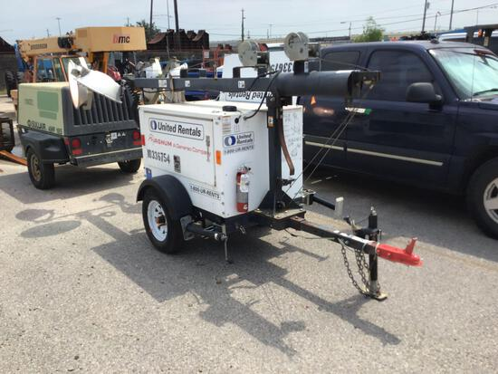2015 MAGNUM PRO MLT3060 LIGHT PLANT SN:1500562 powered by diesel engine, equipped with 4-1,000 watt