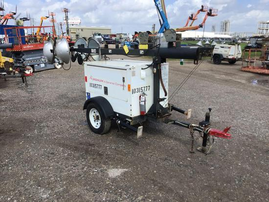 2014 MAGNUM PRO MLT3060 LIGHT PLANT SN:1410120 powered by diesel engine, equipped with 4-1,000 watt