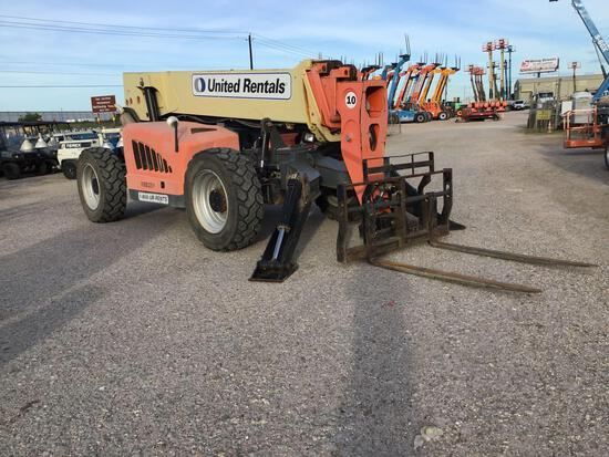 2011 JLG G10-55A TELESCOPIC FORKLIFT SN:0160042481 4x4, powered by diesel engine, equipped with OROP