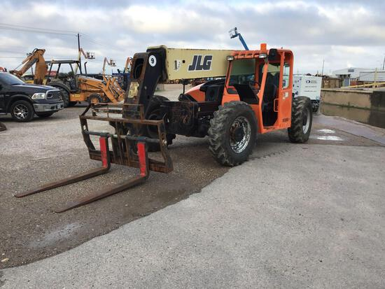 2013 JLG G9-43A TELESCOPIC FORKLIFT SN:0160051085 4x4, powered by diesel engine, equipped with OROPS