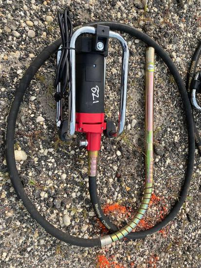 NEW MUSTANG CV3500 CONCRETE VIBRATOR NEW SUPPORT EQUIPMENT