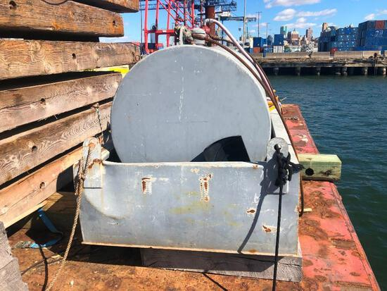 500 GALLON FUEL SUPPLY CELL W/ CONTAINMENT FUEL TANK Electric pump.