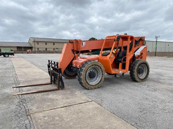 2013 SKYTRAK 8042 TELESCOPIC FORKLIFT SN:0160053411 4x4, powered by diesel engine, equipped with ORO