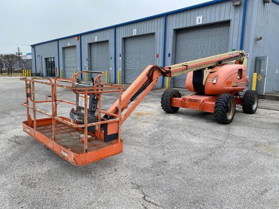 2012 JLG 600AJ BOOM LIFT SN:0300155084 4x4, powered by diesel engine, equipped with 60ft. Platform h