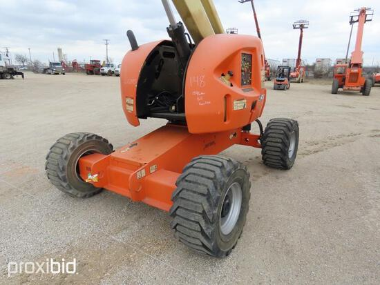 2012 JLG 450AJ BOOM LIFT SN:0300162495 4x4, powered by diesel engine, equipped with 45ft. Platform h