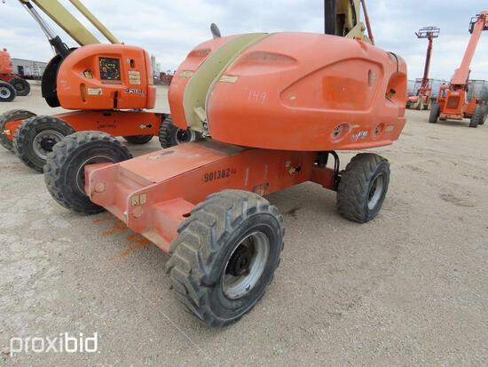 2012 JLG 400S BOOM LIFT SN:0300154164 4x4, powered by diesel engine, equipped with 40ft. Platform he