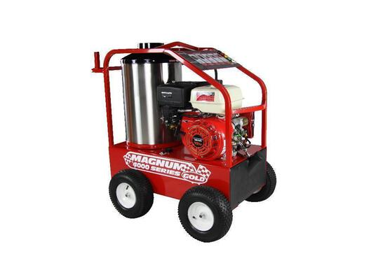 NEW EASY KLEEN MAGNUM GOLD PRESSURE WASHER powered by gas engine, equipped with 4000PSI, 12Volt, 15h