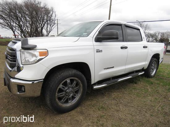 2015 TOYOTA TUNDRA PICKUP TRUCK VN:5TFEY5F10FX178549 4x4, powered by 5.7LT diesel engine, equipped w