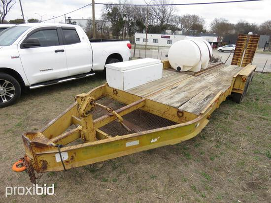 2004 BELSHE TAGALONG TRAILER VN:16JF0182941039617 equipped with 18ft. Deck, 300 gallon tank & Honda