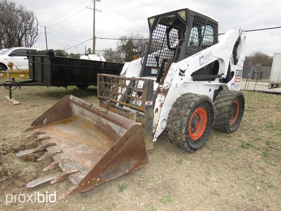 2009 BOBCAT S300 SKID STEER SN:A5GP35340 powered by diesel engine, equipped with rollcage, high flow