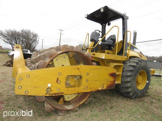 CAT CP563E VIBRATORY ROLLER SN:CATCP563CCNT00283 powered by Cat diesel engine, equipped with EROPS,