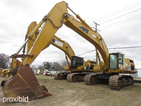 CAT 365BL HYDRAULIC EXCAVATOR SN:9TZ00394 powered by Cat diesel engine, equipped with Cab, air, reac