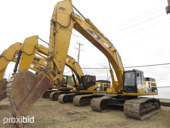 CAT 345CL HYDRAULIC EXCAVATOR SN:CAT0345CCDHP00430 powered by Cat diesel engine, equipped with Cab,