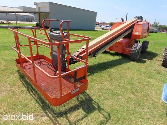 2013 JLG 600S BOOM LIFT SN:0300167577 4x4, powered by diesel engine, equipped with 60ft. Platform he