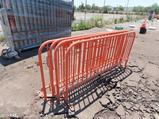 SET OF 4 PAVEMENT BARRIERS SUPPORT EQUIPMENT